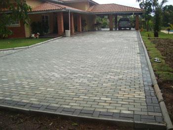 piso intertravado paver ou tijolinho alia beleza e praticidade para ...